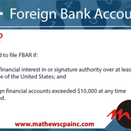 Who Must File FBAR?